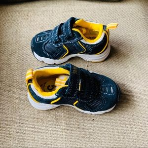Infant Timberland Runners Shoes Yellow Black